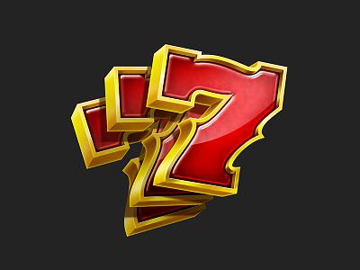 Seven photoshop seven number slot game
