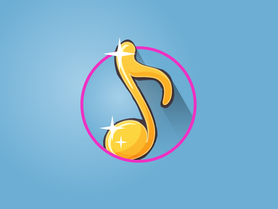 Music note icon game