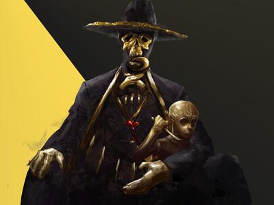Fresh Scary Dude Reaper