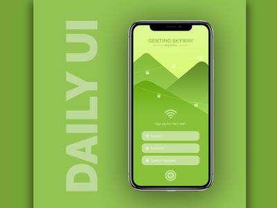Daily UI Challenge- #001