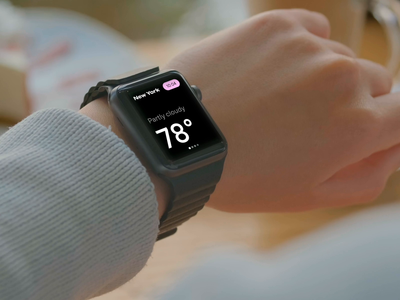 AR Weather App 3d watch weather app weather augmented reality ar