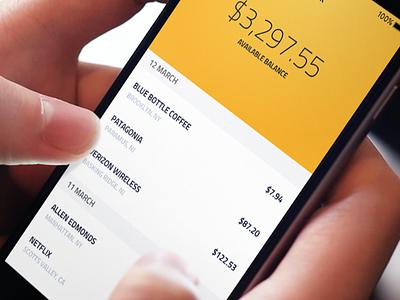 Bank App iphone apple ios banking finance fintech app bank