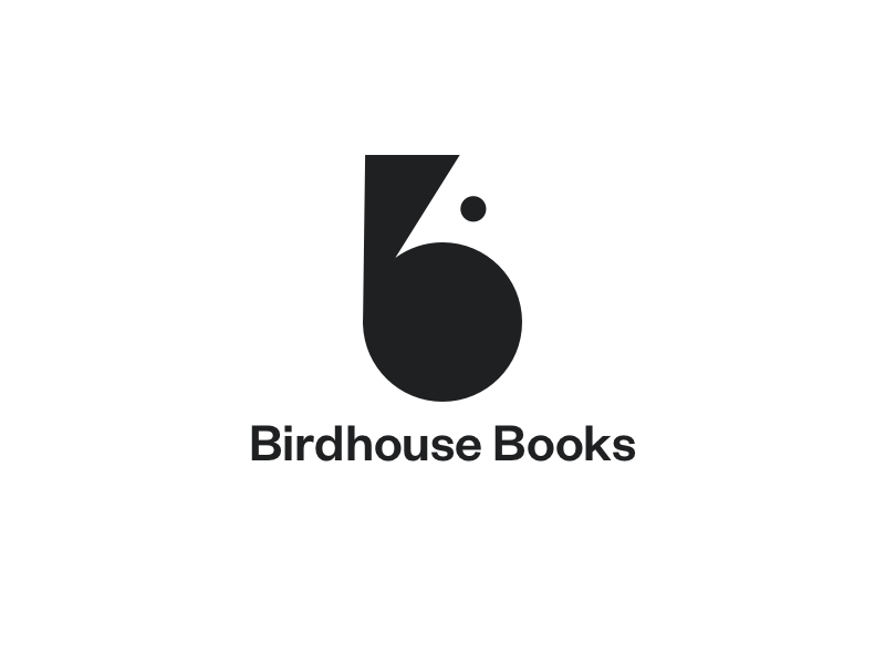 B logotype  animal bird minimal simple b books logo branding
