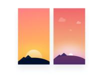 Dynamic Background Illustrations