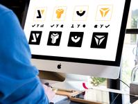 Yclients Logo brand identity branding design brand logos logodesign logotype icon design iconography icon set icon vector illustration logo design branding photoshop graphic design illustrator