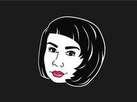 Sticker for fashion blogger