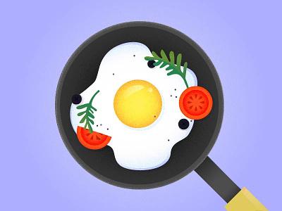 Recipe Book illustration griddle tomato icon vector recipe cook egg sharp illustration