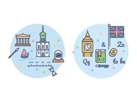 icons for education portal /history/english