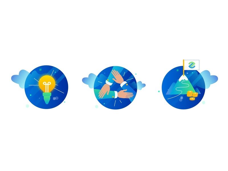 corporate culture icon by dina on dribbble