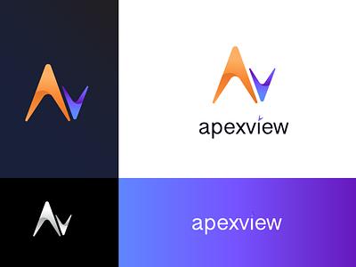 ApexView Logo branding brand logo