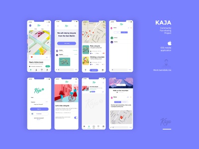 Kaja Ios Ux Ui Redesign Project mock up design ux app ui