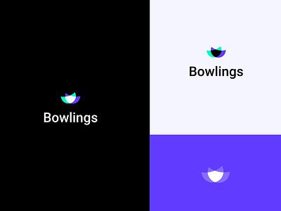 Bowlings vector design logo