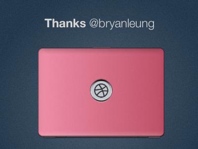 Thanks @bryanleung! interface thanks interface design