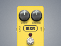 MXR Distortion Guitar Pedal
