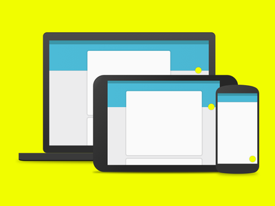 A recreation of Material Design android material design