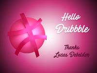Debut Shot Dribbble