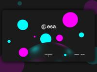 ESA Home Page Concept