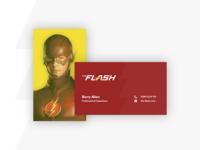 Weekly Warm-Up: Superhero Business Card