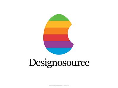 Logo Concept - Designosource branding and identity vector flat branding design simple clean branding logo