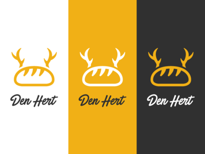 "Logo Concept - Bakery ""The Deer"""
