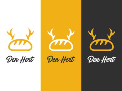 "Logo Concept - Bakery ""The Deer"" concept clean simple vector icon design brand identity branding bakery logo"