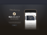 Ola Select Website