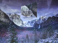 Yosemite Tunnel - Geometric landscapes