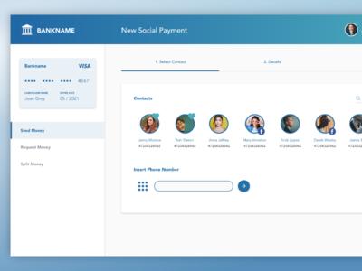 P2P Transfer - Banking