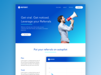 Referrals Landing Page