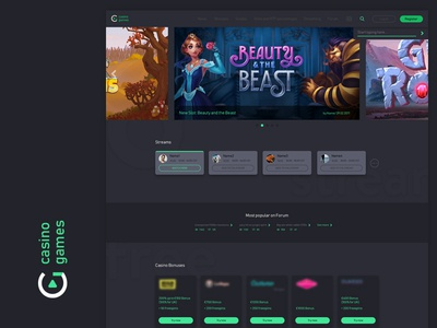 Casino Streaming Website