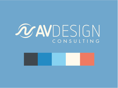 Logo progress logo branding color palatte