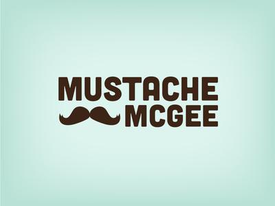 New look mustache moustache logo branding redesign design