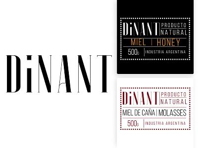 Dinant Logo & Labels graphic design typography branding design logotype art direction
