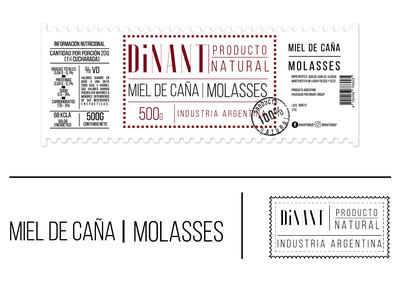 Dinant Molases Label labeldesign branding graphic design logotype logo art direction