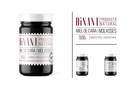 Dinant Molasses labeldesign logotype branding art direction graphic design typography