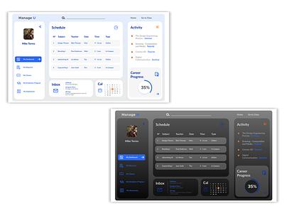 User Profile ui design user profile userinterface dahsboard design ux branding ui art direction