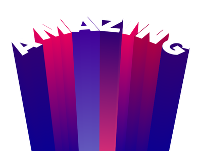Amazing amazing typography graphic design art director art direction flat design illustration