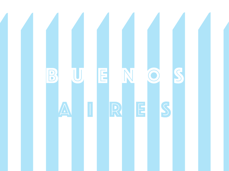Buenos Aires challenge weekly warm-up sticker conceptual buenosaires flat art direction graphic design illustration design