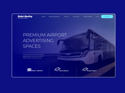 Landing page / AD Spaces