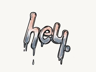 hello (dribbble) world