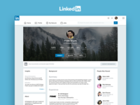 Redesign | LinkedIn People Page