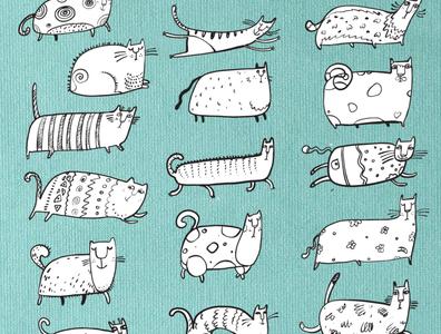 Run, cat, run!