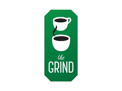30 Logos: The Grind the grind brand identity branding coffee thirtylogos logo logodesign