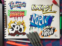 Graffiti practice