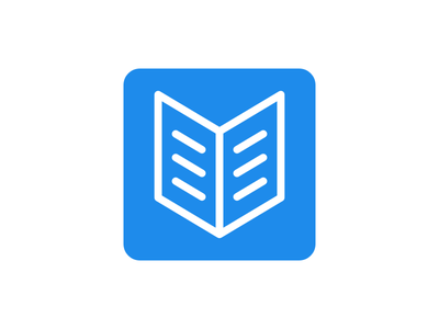 Daily UI #005 – App Icon ios android homescreen share read reading dailyui icon app book books