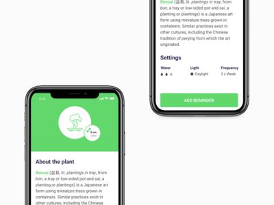 """""""Water Yo' Plant"""" - Reminder App (WIP)"""