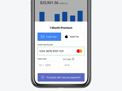 Daily UI 002 — Checkout mobile app design mobile app mobile security mobile payment credit card checkout payment design product product design user interface ux ui