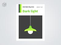 Dark light-Posters practice