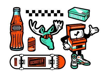 SDC Stickers