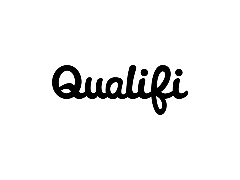 Qualifi brand mark script logo